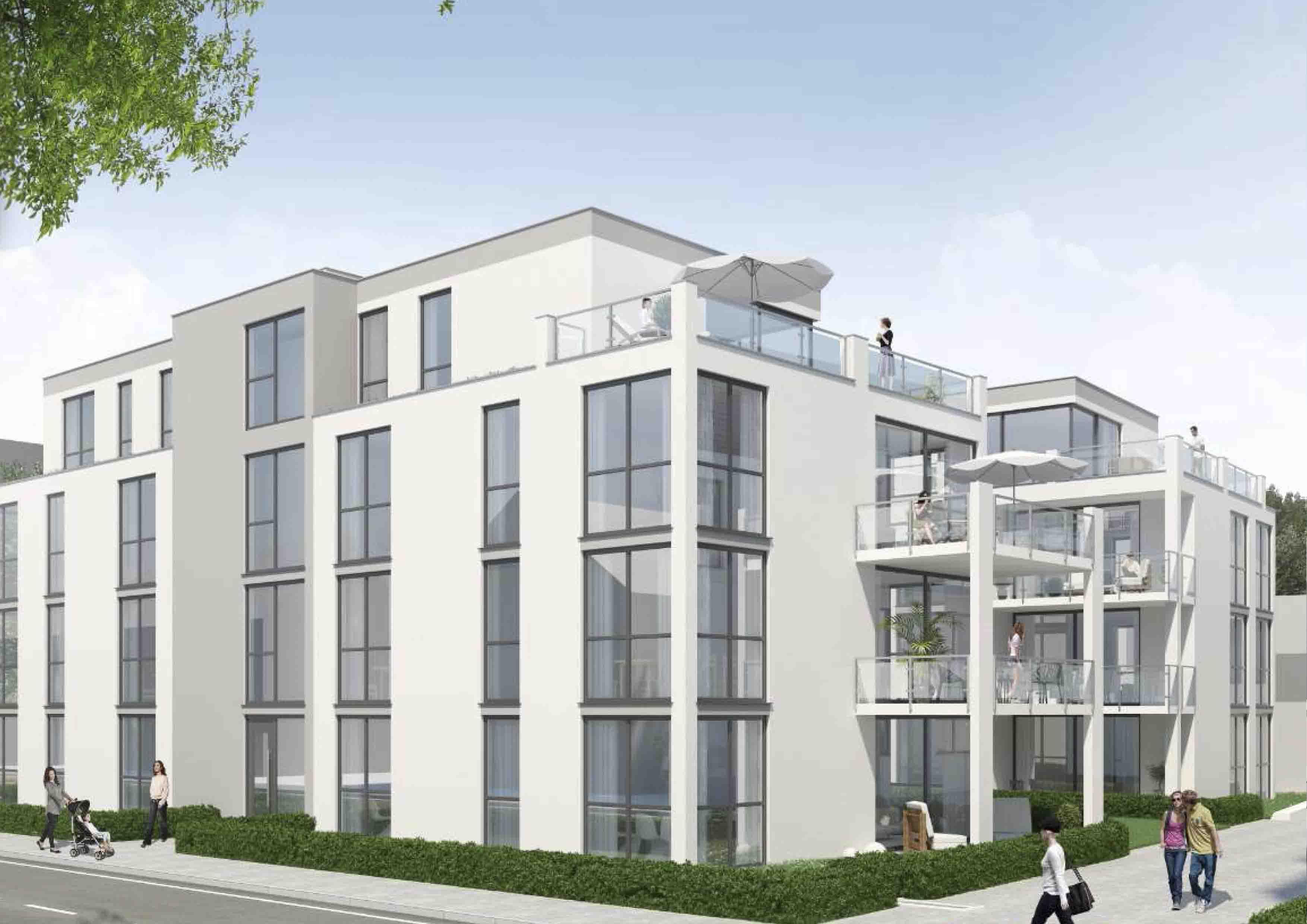 Visualisierung-Metzingen, Ulmer-Ecke Marienstraße - Haus 2