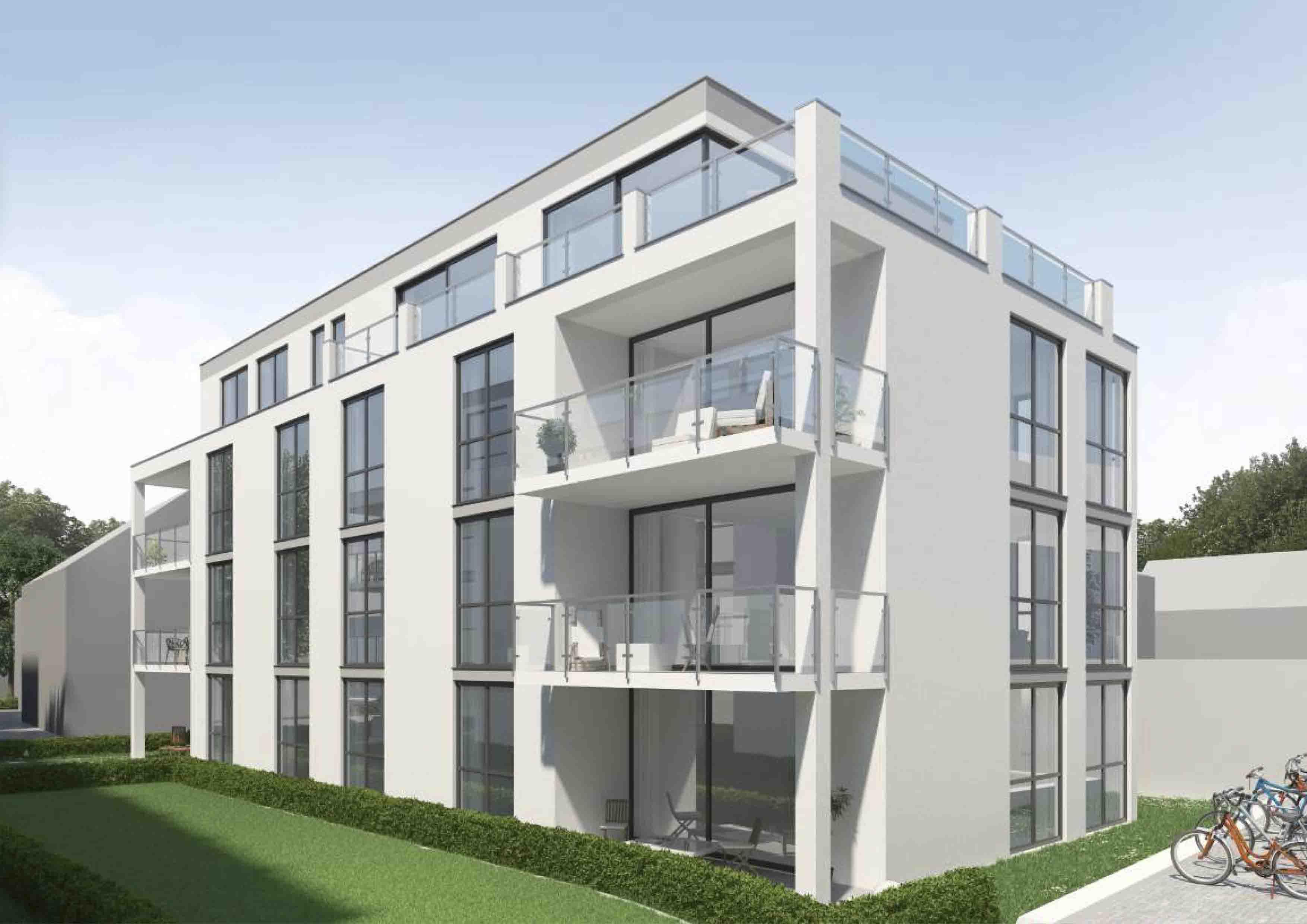Visualisierung-Metzingen, Ulmer-Ecke Marienstraße - Haus 3